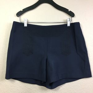 Ann Taylor High waisted Navy Blue Short